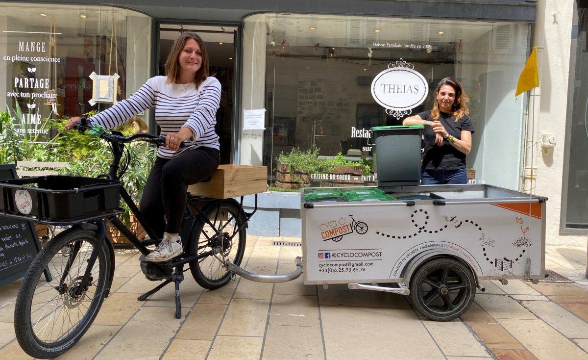Cyclo'compost une entreprise toulousaine favorisant le recyclage