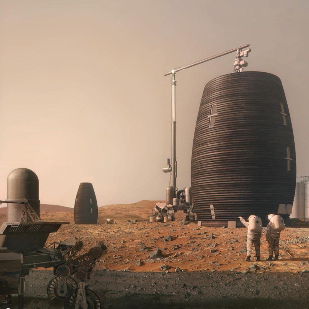 Les scientifiques ont notamment repris une idée proposée par AI Space Factory pour la création d'un habitat martien sous le nom de MARSHA.